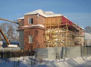 реконструкция музея. 2009 год.