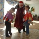 Праздник Пасхи в Нижнетуринском детском доме-интернате, 2010 год
