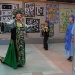 Модный показ на выставке «Лоскутная фантазия»