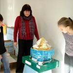 На экскурсии 6 «А» класс школы №64 с педагогом С. Карпеченковой