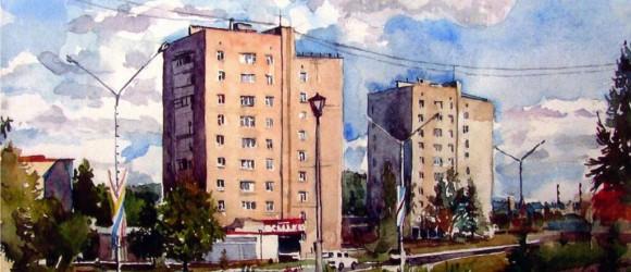 «На входе в город» Александр Фёдоров