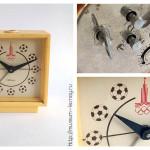 Часы-будильник механические «Севани», Ереванский часовой завод «Севани», СССР, 1980 г.