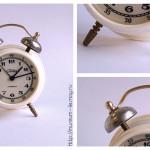 Часы-будильник механические «Слава», 2 Московский часовой завод «Слава», СССР, 1980-е гг.