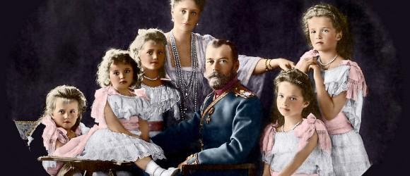 семья Романовых миниатюра