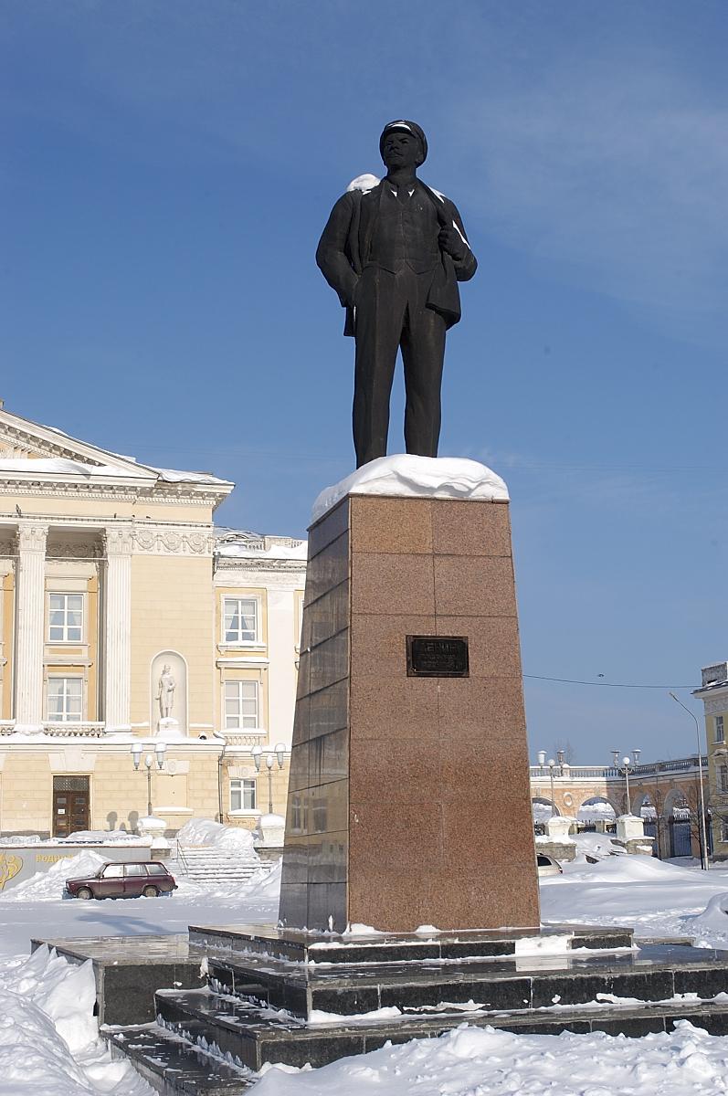 Памятник В.И.Ленина