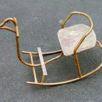 Качалка «Гусь». Металл, кустарное производство, 1960-е гг.