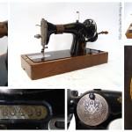 Швейная машинка 1948-1958 года выпуска. Производство «Подольский механический завод им. Калинина», СССР.