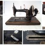 Швейная машина «Singer» 1906 года выпуска. Произведена в городе Elizabeth, New Jersey USA.