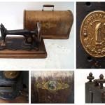 Швейная машина «Singer» 1886 года выпуска. Производство Германия.