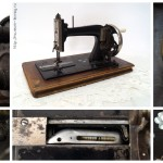 Американская швейная машина челночного стежка (1895-1905) поставки московского Торгового дома Ж. Блока.