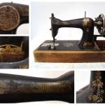 Швейная машинка 1923-1924 года выпуска, производство «Госшвеймашина», РСФСР.