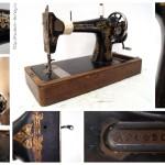 Швейная машина «Singer» 1911 года выпуска. Произведена в городе Подольск, Россия.