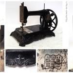 Швейная машинка 1878-1902 года выпуска, производство «The Hengstenberg&Anker Sewing Machine Companies», город Билефельд, Германия.