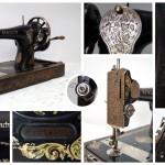 Швейная машина «Singer» 1914 года выпуска. Произведена в городе Clydebank, Scotland.