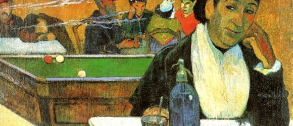 Paul Gauguin. NIght Cafe in Arles (Madame   Ginoux), 1888 г.