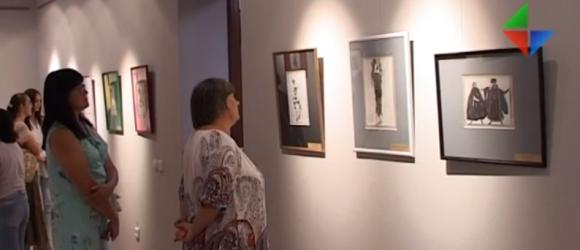 Выставка Леона Бакста миниатюра видео