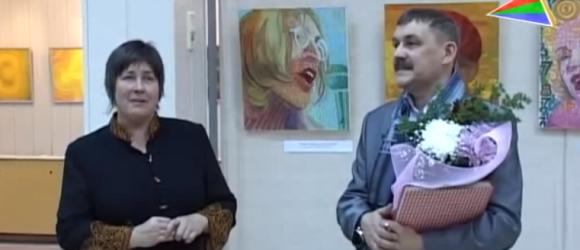 Выставка художника Игоря Крюкова миниатюра видео