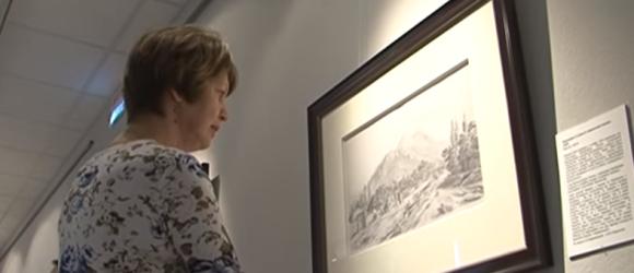 Выставка посвященная 200-летию со дня рождения Михаила Лермонтова миниатюра видео