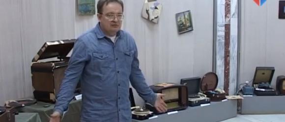 Выставка раритетной аудио-техники миниатюра видео