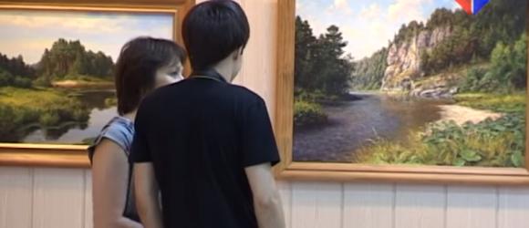 выставка Вадима Зайнуллина Мир за окном миниатюра видео