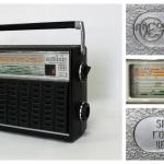 Портативный радиоприёмник «Spidola-232», СССР, Рижский государственный электротехнический завод «ВЭФ», модель 1979 года.