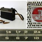 Портативный радиоприёмник «Алмаз», СССР, г. Ленинград, завод «Новатор», модель 1964 года.