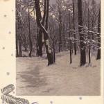 Открытка новогодняя, художник Р.Житков, Московская печатная фабрика Гознака, 1960 г.