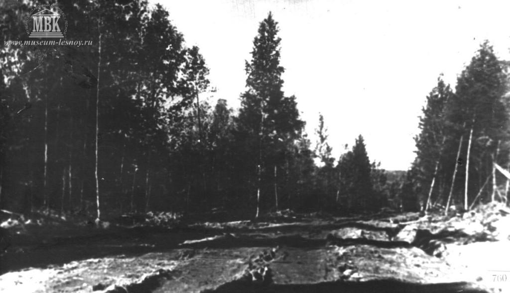Дорога на 35 квартал, 1948 г. фото из архива музея