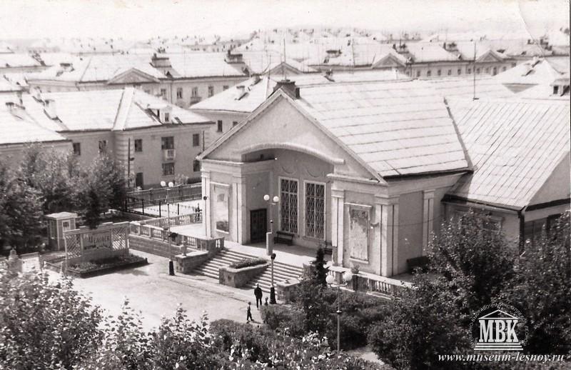 Клуб молодежи. Первое учреждение культуры Свердловска-45. Здесь начинала свою работу музыкальная школа.