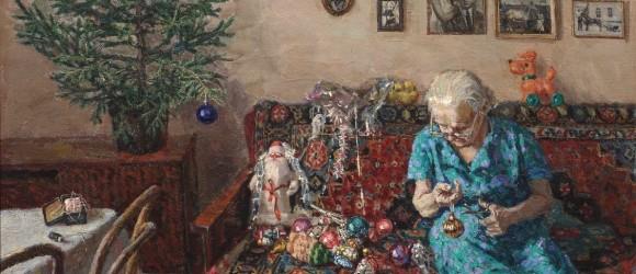 1(на баннер) Зайцев Егор Николаевич, «Рождественская елка», 1996 г.