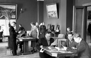 ДК Современник, клубы по интересам, 1957 г., фото С.Е. Федоровского из фондов МВК.