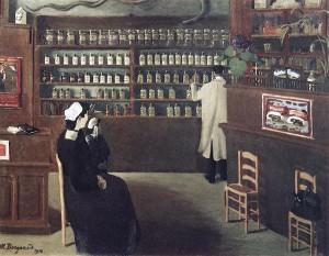 Мариус Боржо. Аптека. 1912
