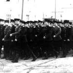Строй военных, 1950-е