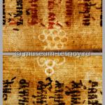 Филигрань «Виноград», Франция, нач. XVII в.