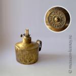Лампа керосиновая «BAYONNET BRENNER», 7-линейная. Германия, конец XIX - начало ХХ века.