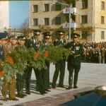 Возложение венка к Вечному огню, 1980-е гг.