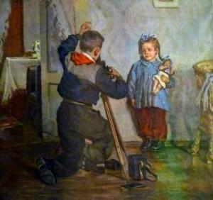 Божий Михаил Михайлович «Таня, не моргай!», 1954 г.