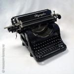 Машина пишущая «Olympia», модель 8, Olympia Büromaschinenwerke AG, г. Эрфурт, Германия, 1950 г.