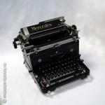 Машина пишущая «Mercedes», модель «Express S6», Mercedes Buromaschinen - Werke A.G., г. Целла-Мелис, Германия, 1947 г.
