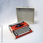 Машина пишущая портативная «UNIS TBM de Luxe», Завод бюро машин, г. Бугойно, Югославия, 1978 г.
