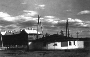 Первое жилище строителей, юрта,1960 г.