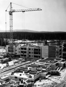 Строительство нового района, 1980-е гг.