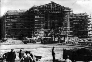 Строительство Дома Культуры, 1956 год