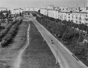 Улица Победы, 1980 год