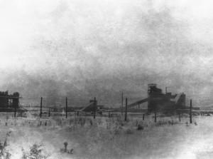 Начало строительства 8-й площадки, начало 1950-х гг.