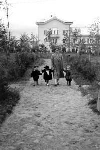 Городской сквер, 1955 год