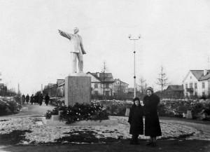 Центральный городской сквер, 1958 г.