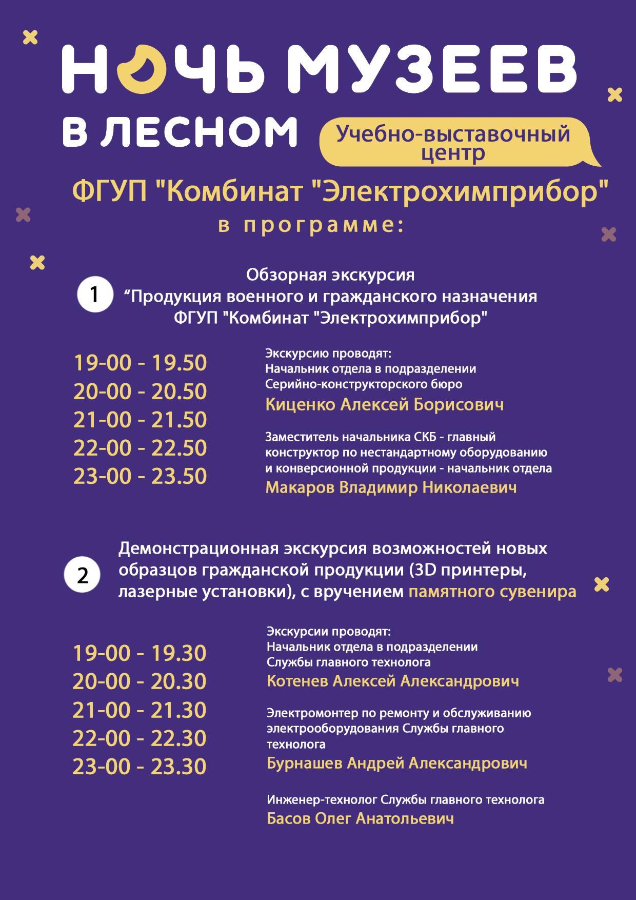 УВЦ Ночь музеев